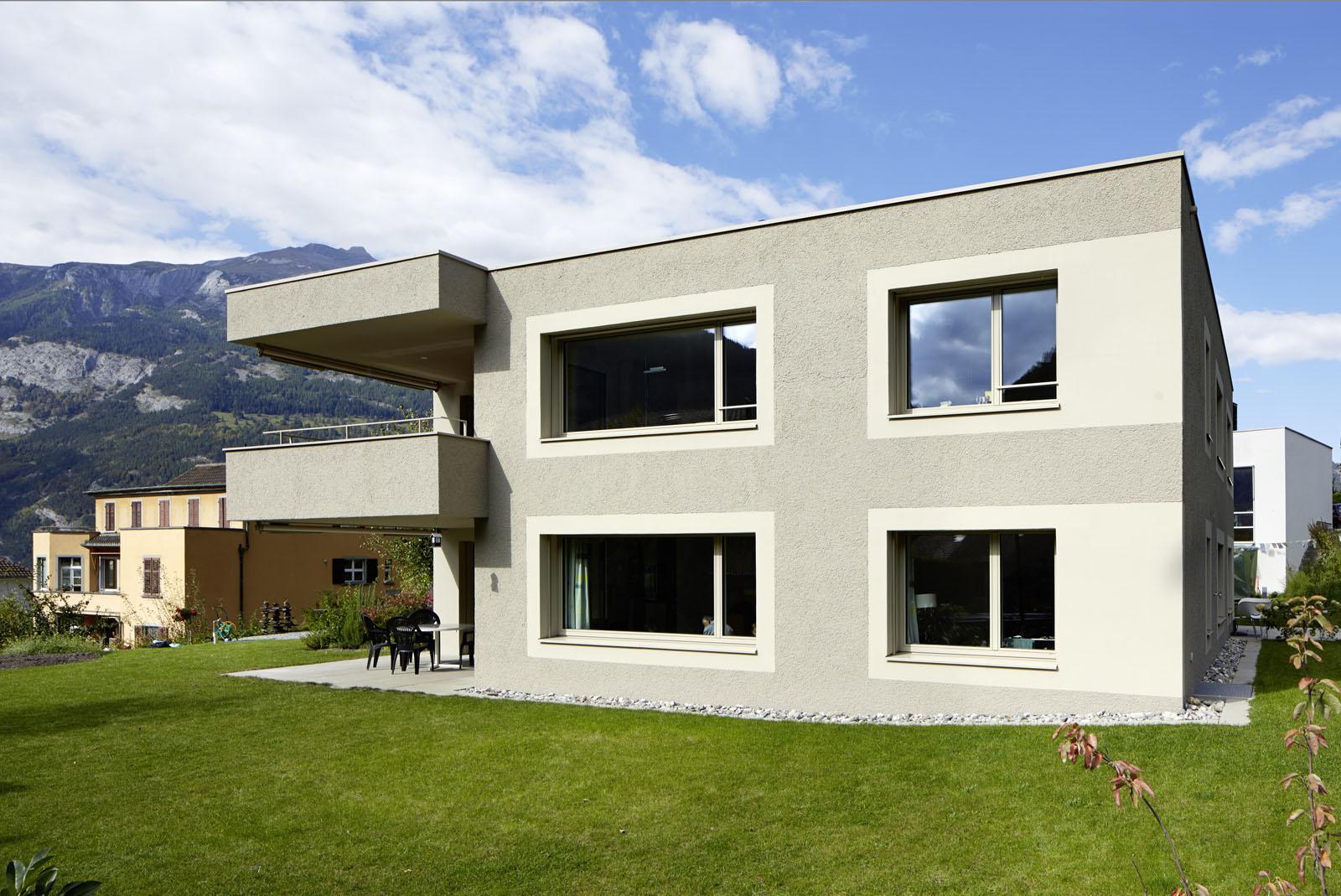neubau wohnhaus sds schwander sutter architekten. Black Bedroom Furniture Sets. Home Design Ideas