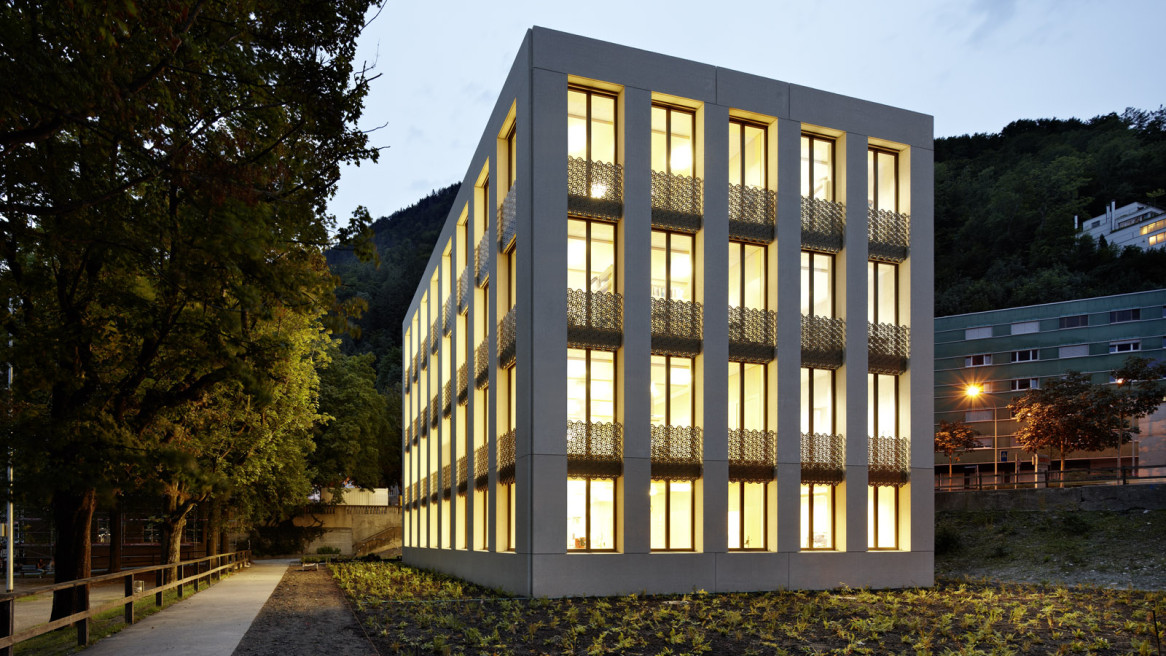 Erweiterung Oberstufenschulhaus Quader