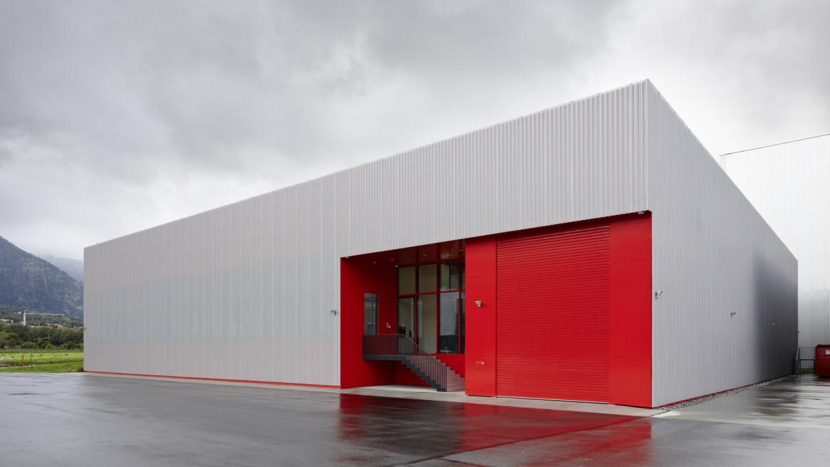 Neubau Lagerhaus