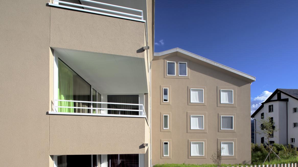 Neubau Mehrfamilienhaus Sot Baselgia