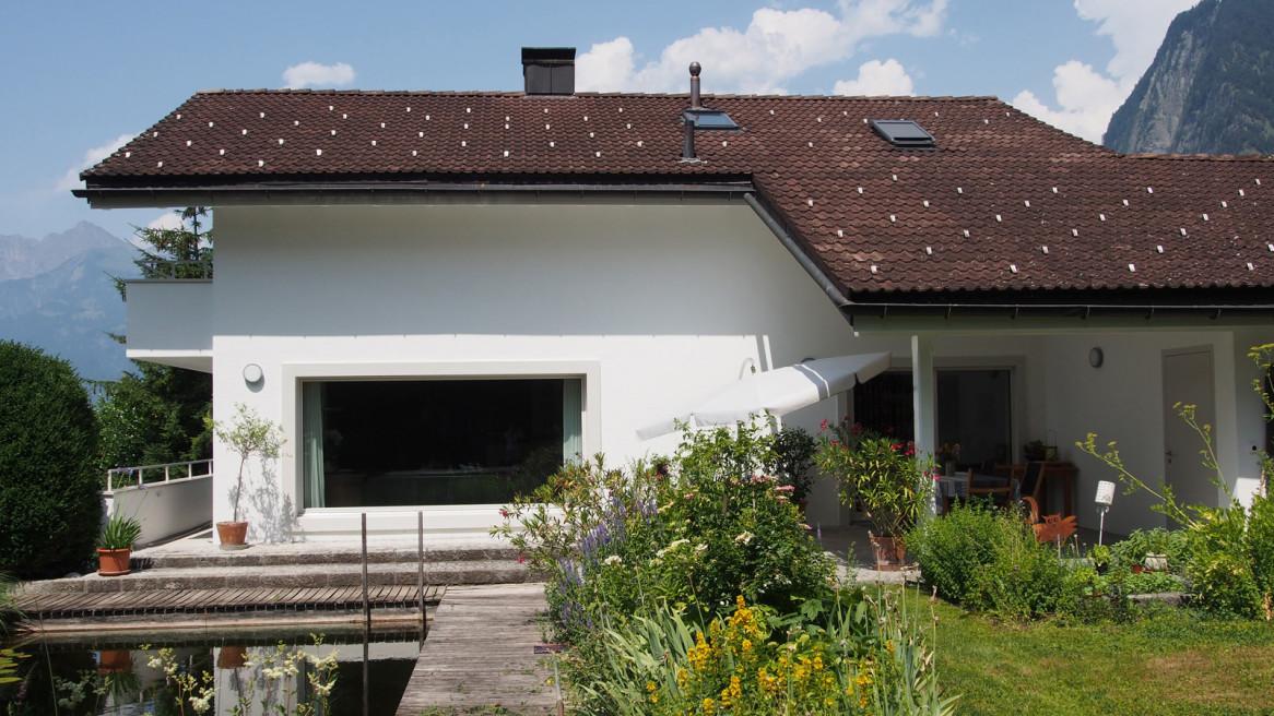 Fassadensanierung Einfamilienhaus UEG