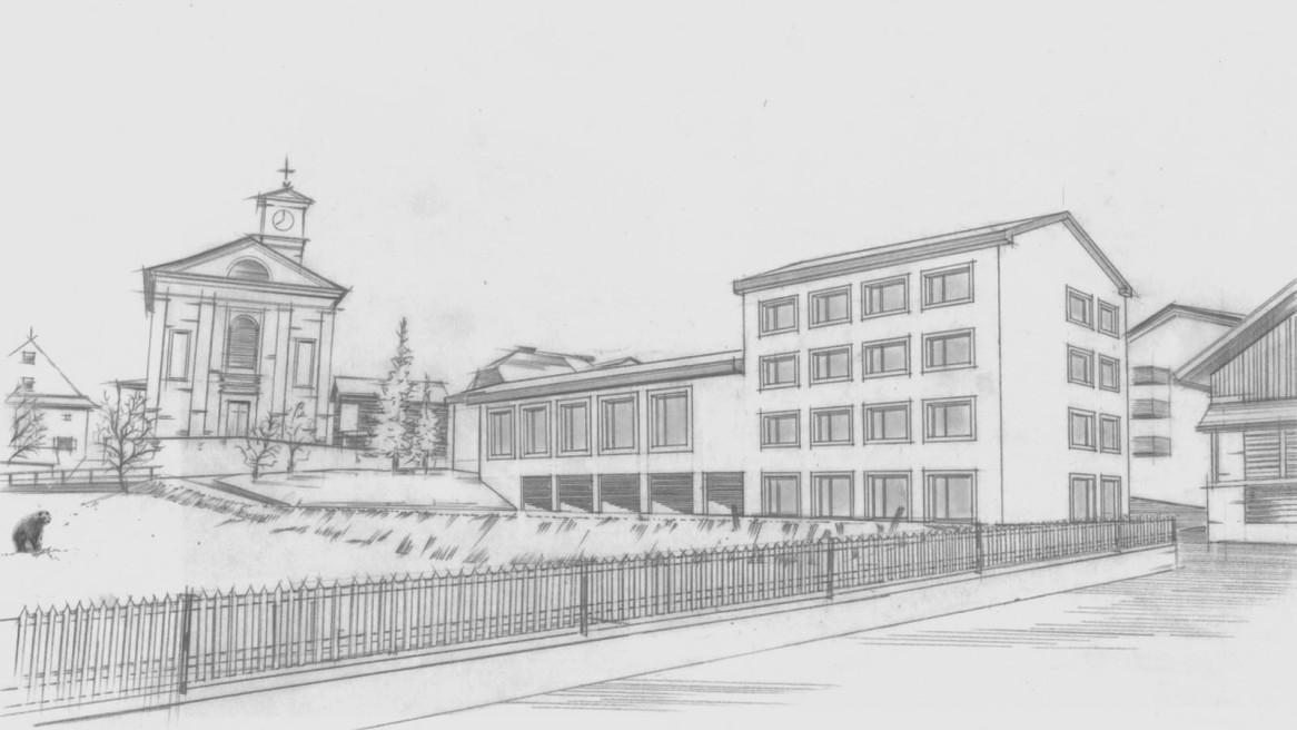 Sanierung Schulhaus Lantsch/Lenz