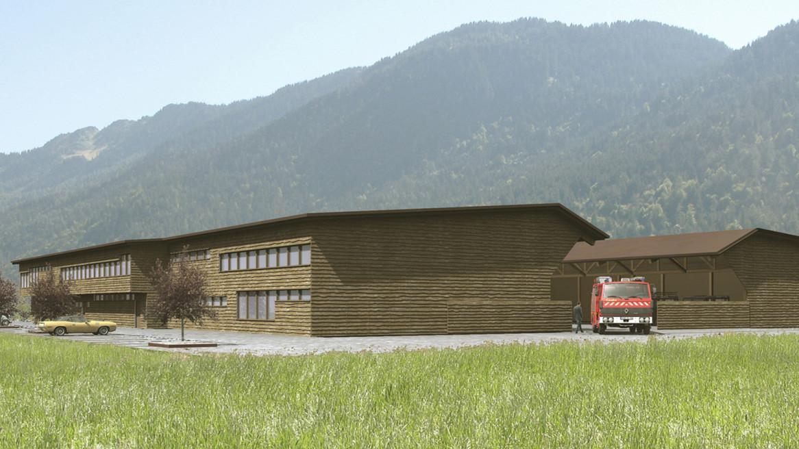 Neubau Gemeindebetriebe Bonaduz und Rhäzüns