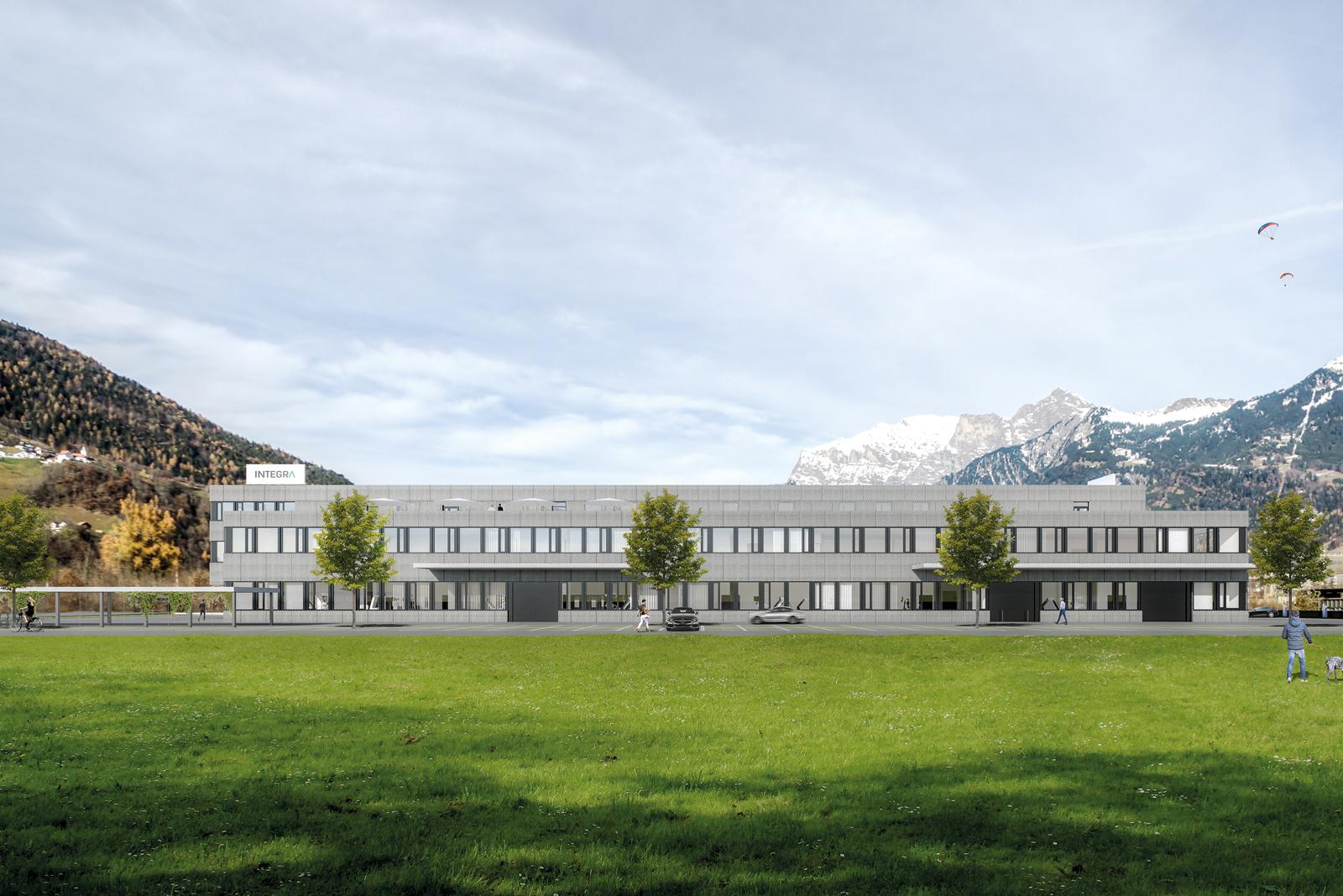 Erweiterung Büro- und Produktionsgebäude