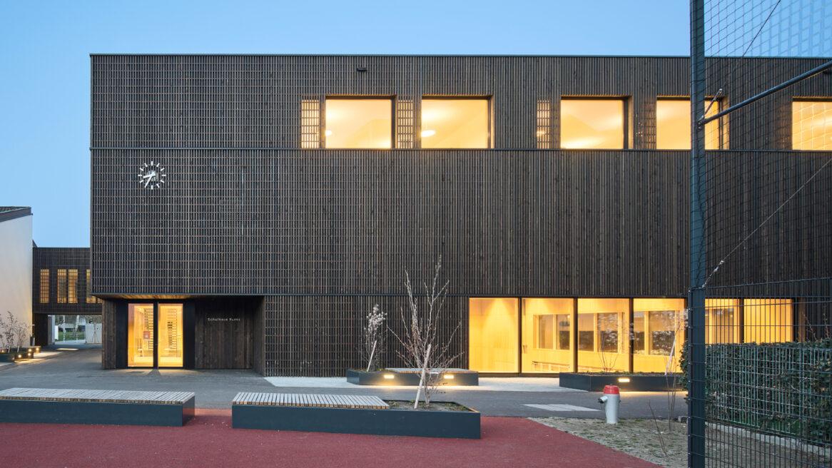 Neubau Mehrzweck-Doppelsporthalle und Schulerweiterung Bonaduz